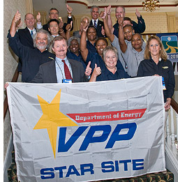 VPP Star Status awarded to SRNS at the 2010
